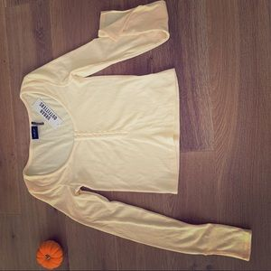 NWT Urban Outfitters Henley Top XS